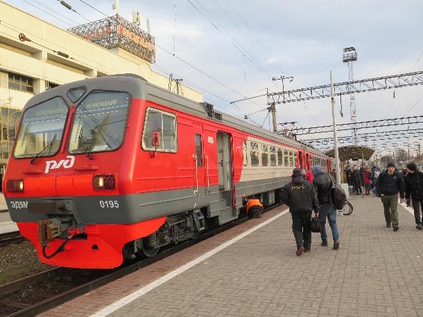Краснодар и пригород связали четыре новых маршрута электрички