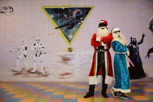 Небанальный Новый год: детский праздник в лазертаг с ДАРТ Морозом и ШТУРМовочкой