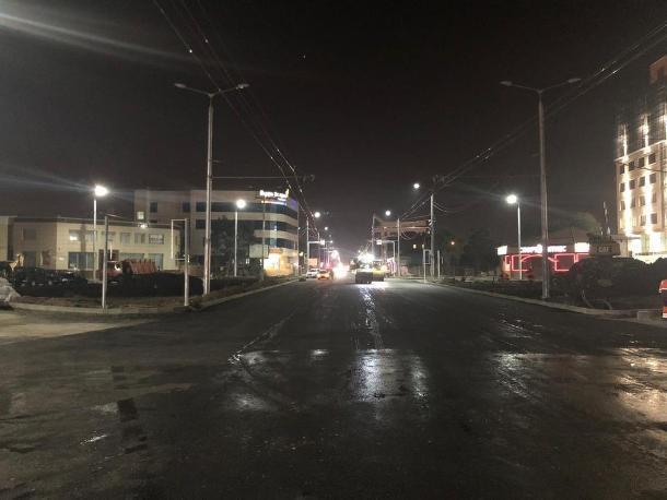 «Поехали»: улицу Тургенева в Краснодаре открыли для проезда