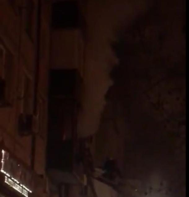 В квартире у пенсионеров в Краснодаре вспыхнул пожар