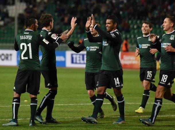 ФК «Краснодар» провел последний домашний матч настадионе «Кубань»