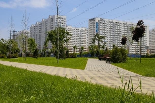 Четверть территорий новых микрорайонов вКраснодаре отдадут под парки искверы