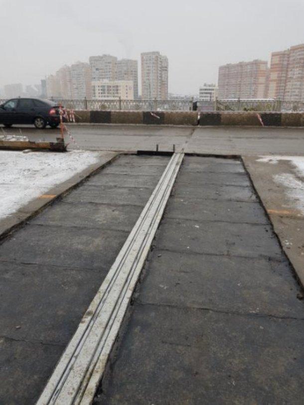 Ремонт на Тургеневском мосту в Краснодаре продолжат, как только выглянет солнце