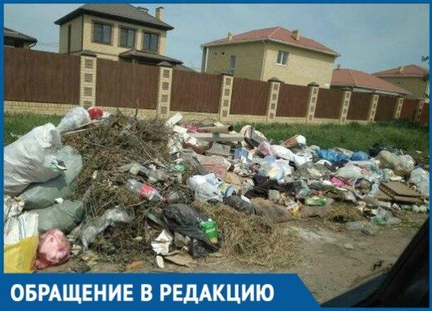 «Наш поселок превратили в свалку», - жители Краснодара