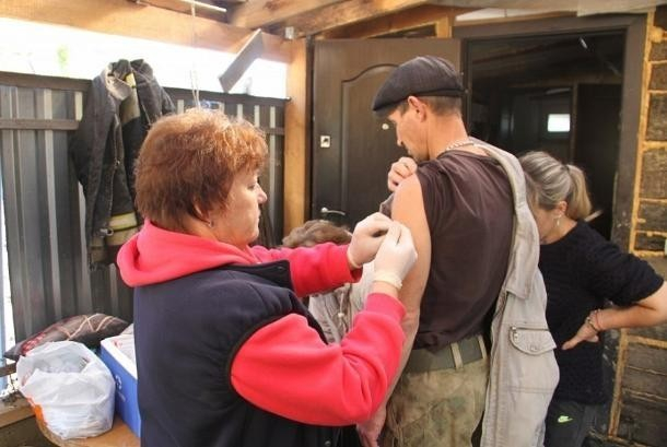 На Кубани завершилась вакцинация пострадавших от наводнения жителей