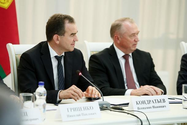«Нам важно модернизировать предприятия и открывать новые производства», - губернатор Кубани Вениамин Кондратьев