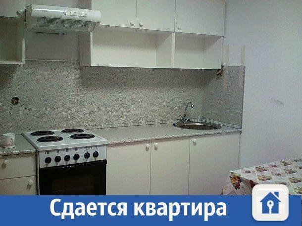 Квартира с ремонтом, техникой и мебелью сдается в Краснодаре