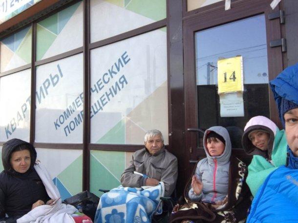 Дольщики краснодарского ЖК после встречи с губернатором продолжили голодать