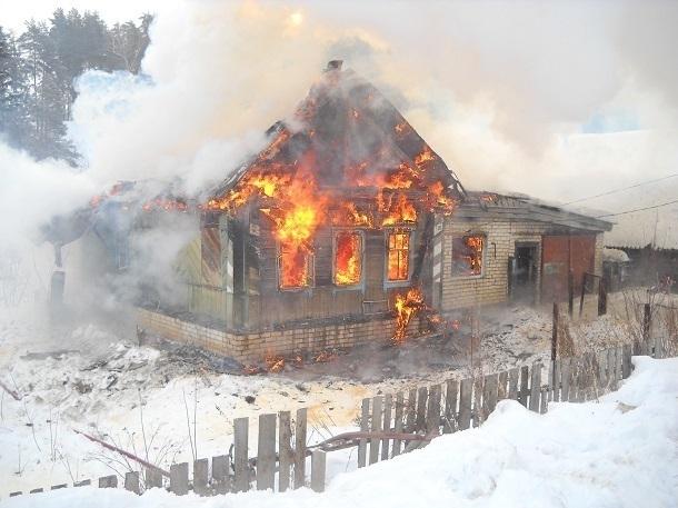 ВКаневском районе всгоревшем доме отыскали тела двоих мужчин