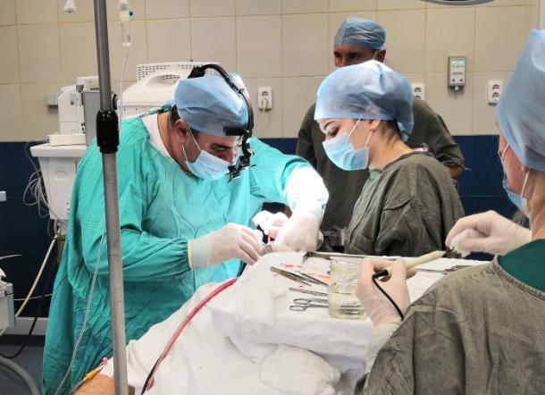 В Краснодаре врачи спасли мужчину с тяжелыми травмами после ДТП