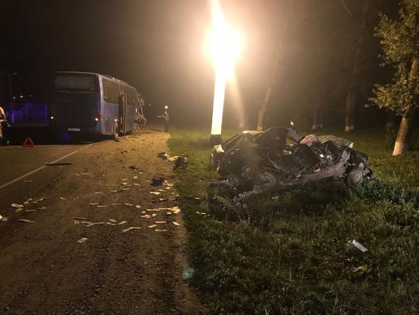Жуткое ДТП с автобусом унесло жизни троих человек на Кубани