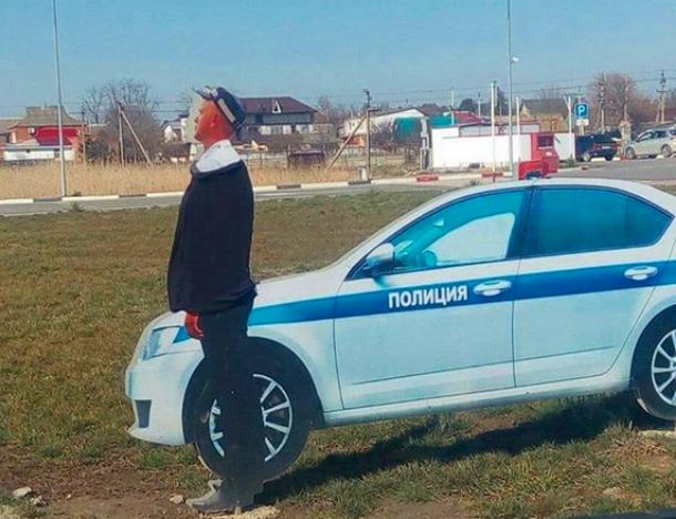 Жители Кубани только к весне приодели сотрудника полиции