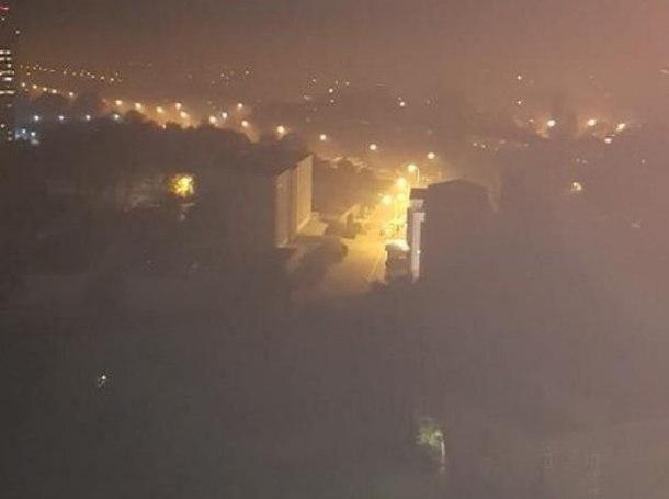 Стало известно, что за дым окутал Краснодар