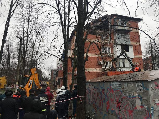 По факту взрыва в Краснодаре возбуждено уголовное дело