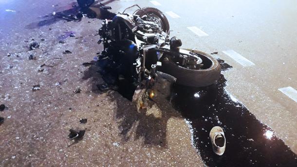 В ночном ДТП в Сочи насмерть разбился мотоциклист