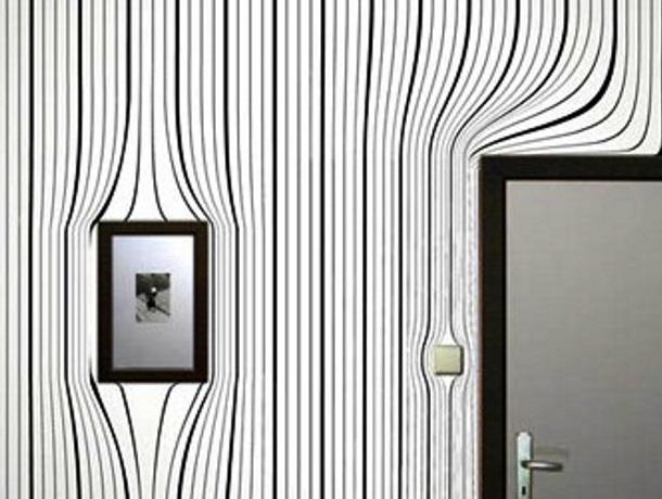 Обои могут превратить квартиру в произведение искусства