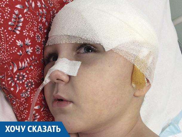 11-летний ребенок с пластиной в черепе два года пытается встать на ноги после ДТП под Краснодаром