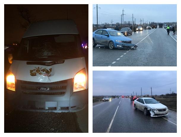 Смертельное ДТП устроил водитель микроавтобуса в Краснодарском крае