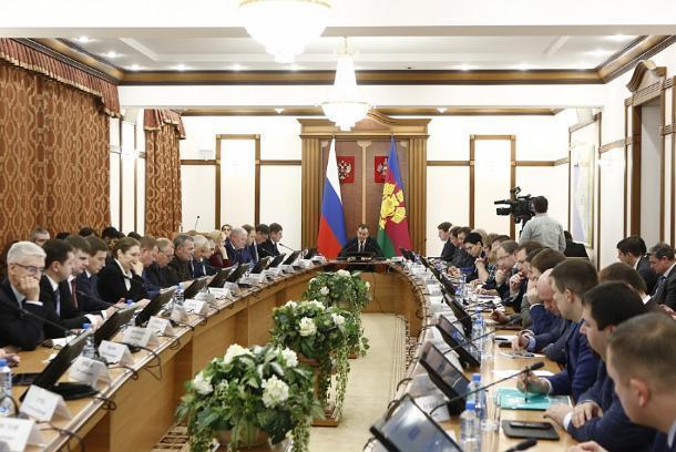 В администрации Кубани появится управление по контролю за нацпроектами