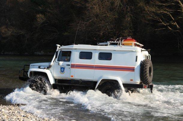 Из-за быстрого подъема уровня воды в реке пришлось спасать 19 человек в Сочи