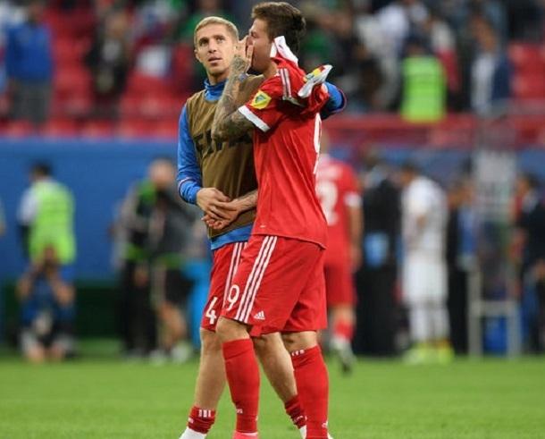 «Краснордарцы» не спасли сборную России в матче с уругвайцами