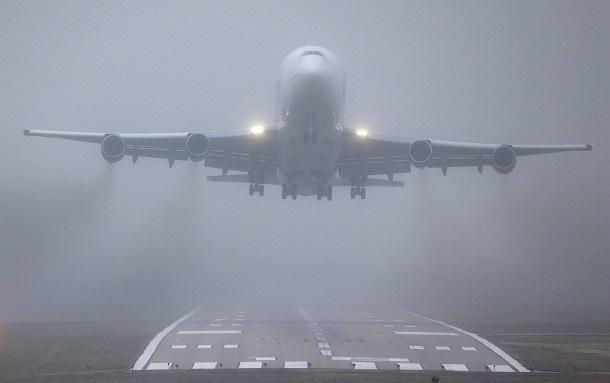 Вылет 15 рейсов задерживается ваэропорту Симферополя из-за тумана