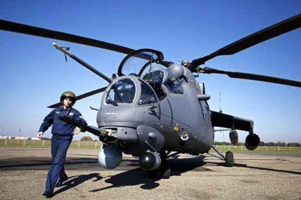На центральную площадь Кореновска прилетят боевые вертолеты