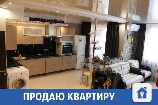 «Будет где жить и гулять»: двухэтажная квартира продается в Краснодаре