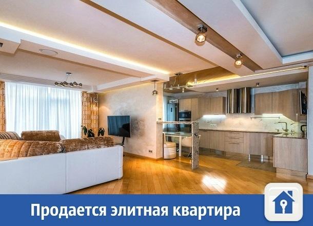 Элитная квартира продается в Краснодаре