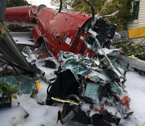 Видео сместа падения вертолета вСочи появилось вглобальной паутине