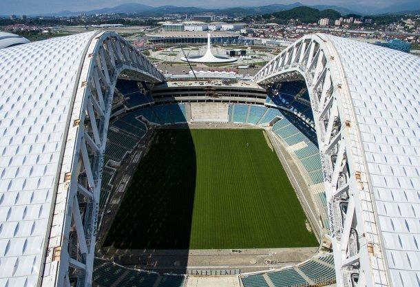 Власти Сочи сообщили о100-процентной готовности стадиона «Фишт»