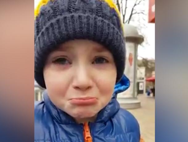 Первоклашка Краснодара разрыдался из-за окончания четверти