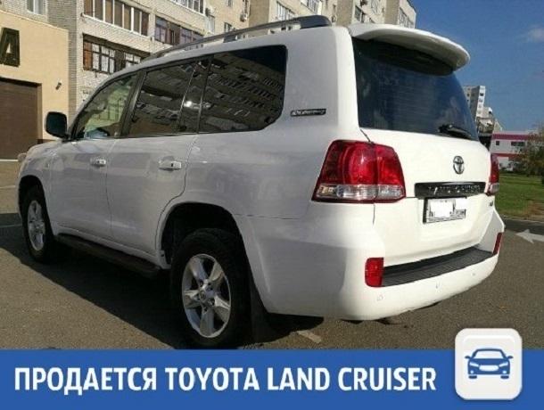 6-летний Land Cruiser ищет нового хозяина в Краснодаре