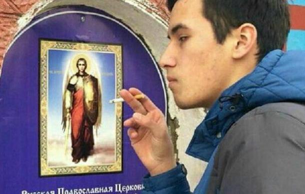 Как наказали студента, потушившего сигарету об икону в Горячем Ключе