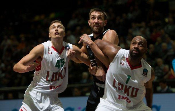 «Локомотив-Кубань» одержал девятую победу подряд вбаскетбольном Еврокубке, разгромив «Бильбао»
