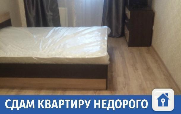 Чистая и светлая квартира с хорошим ремонтом сдается в Краснодаре