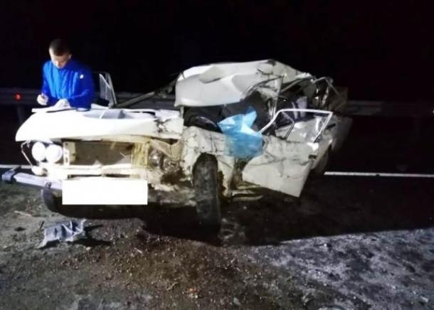 На Кубани в ДТП на встречке погиб водитель  «шестерки»
