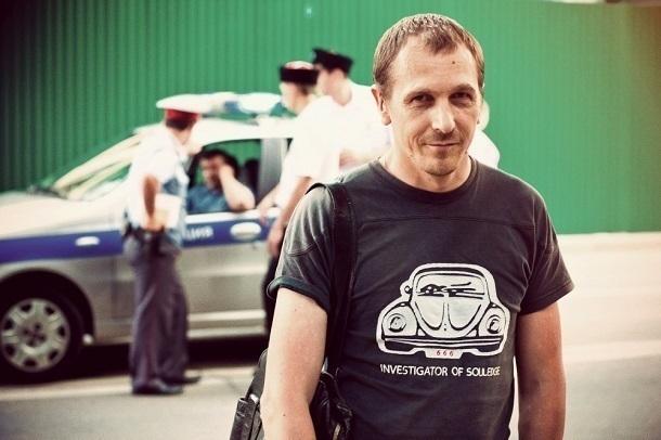 Блогера задержали поделу окресте напамятнике Дзержинскому