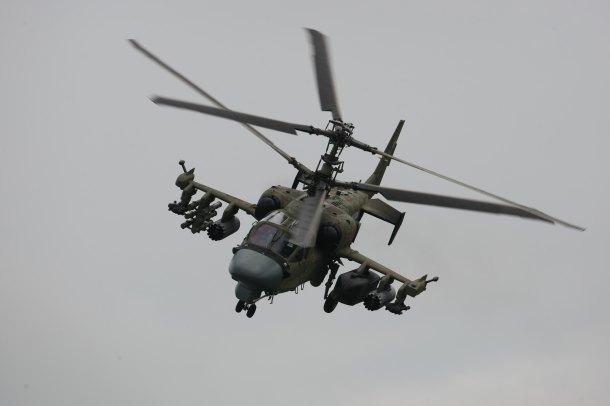 Вертолетный полк вКраснодарском крае кконцу осени получит девять вертолетов Ка-52