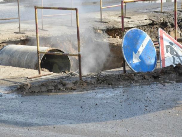Несколько улиц Краснодара остались без воды из-за прорыва канализации