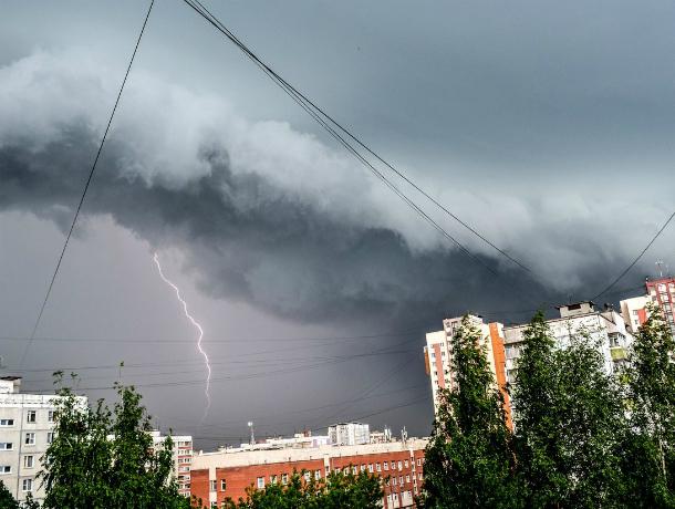 ВКраснодаре объявлено штормовое предупреждение поливням сградом