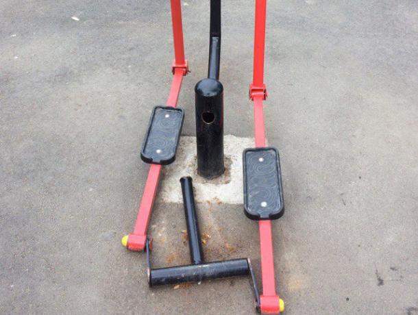 В Краснодаре уличные тренажеры сломались под грузом желающих похудеть