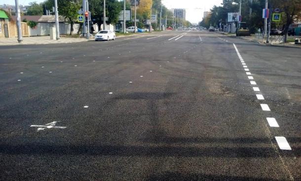 Пересечение Тургенева и Северной в Краснодаре открыли для проезда транспорта