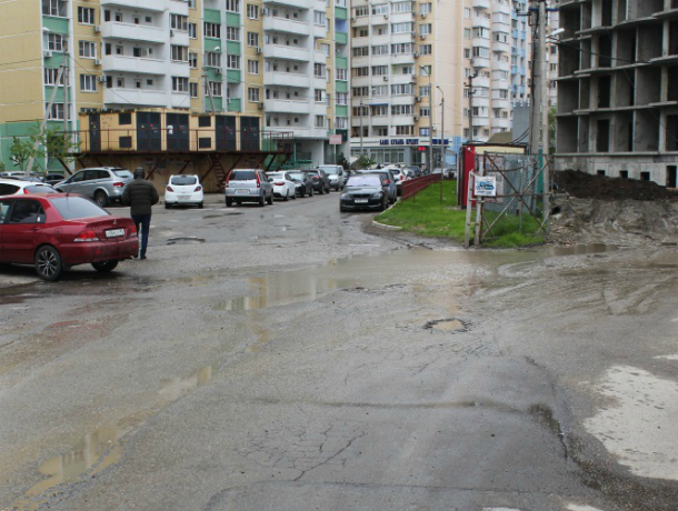При возведении 16-этажек рабочие разрушили дороги в Краснодаре