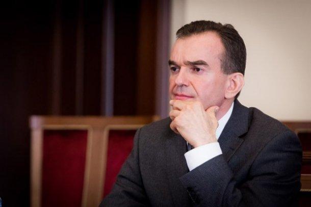 Губернатор Кубани лично займется решением проблем обманутых дольщиков