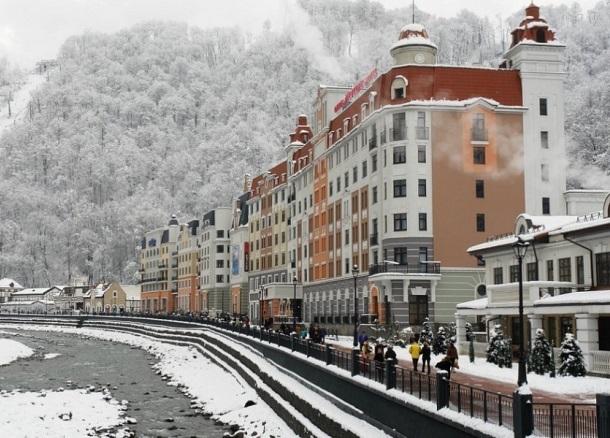 За несколько дней на курортах Сочи продали 50 тысяч ски-пассов