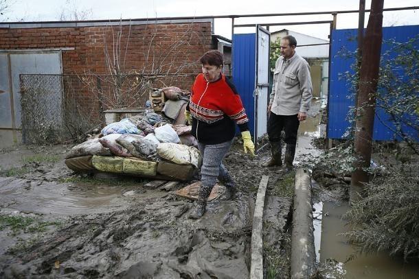 В подтопленных районах Кубани непригодными для жилья признаны почти 250 домов