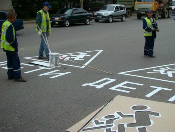 В Краснодаре частично изменят дорожную разметку и установят новые знаки