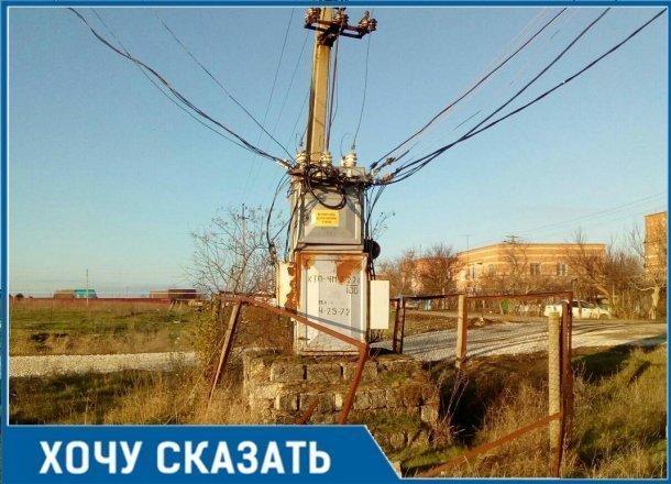 «Все на соплях, ржавое», - житель Кубани попросил заменить старый много раз горевший трансформатор