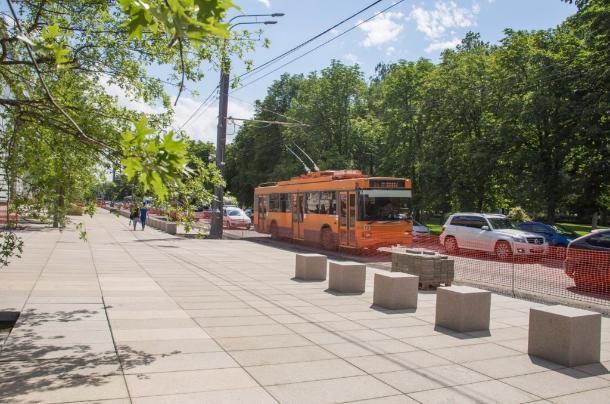 Стало известно, когда уберут троллейбусы с улицы Красной в Краснодаре